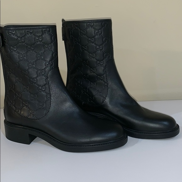 a2f73c59d72 Gucci Maud Ankle Boots with GG emblem